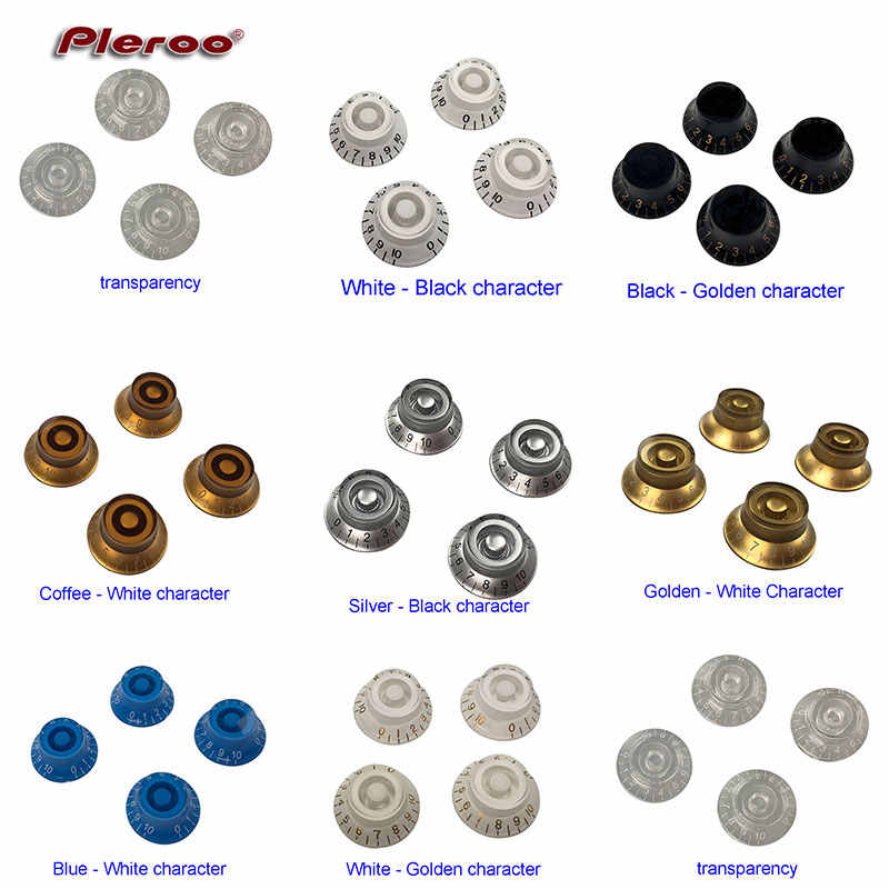 Pleroo Parts Set of 4 PCS FOR US Gib SG Faded T SPEED CONTROL KNOBS Guitar Control Knobs Volume Tone