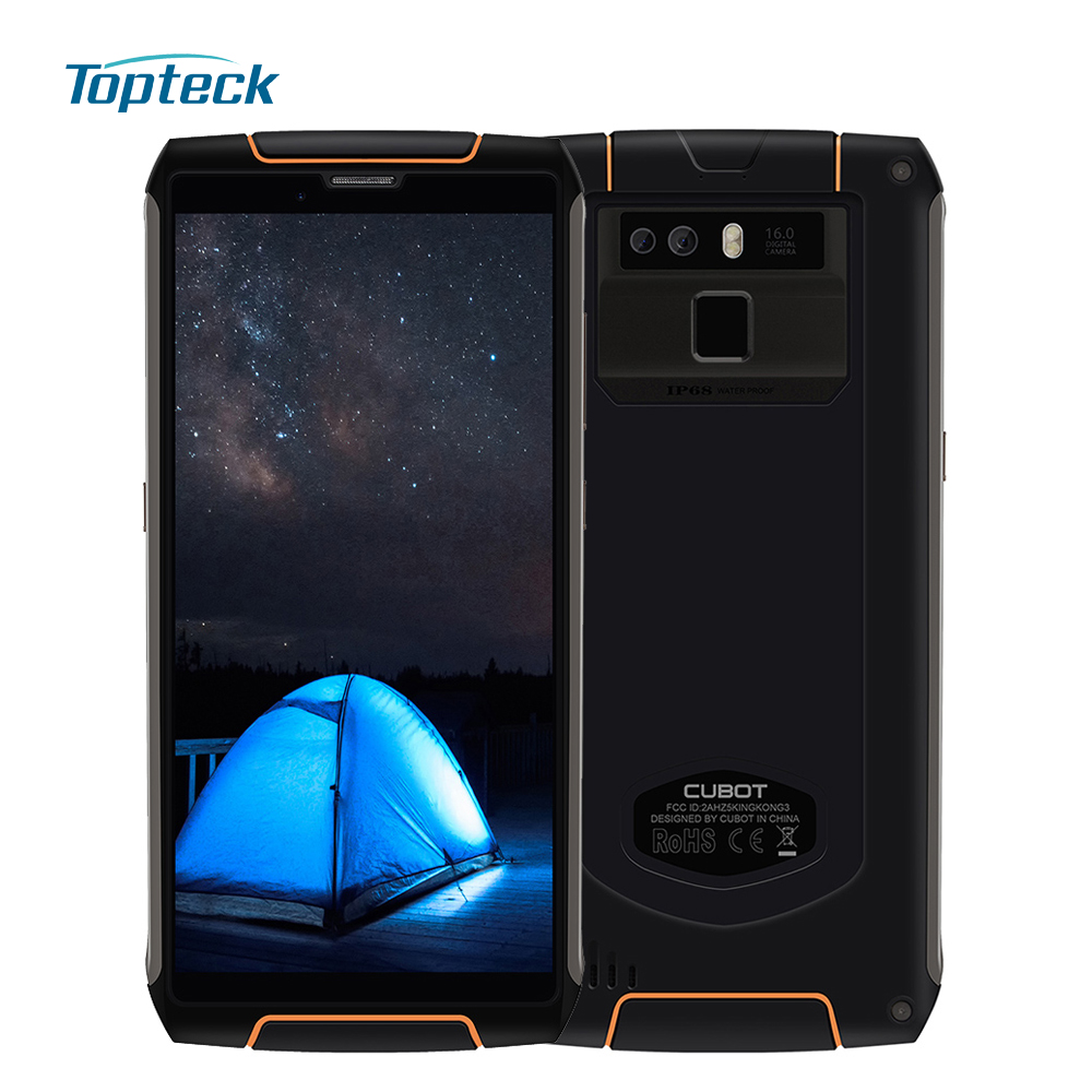 Cubot King Kong 3 IP68 Waterproof 4GB 64GB 6000mAh Rugged Mobile Phone 5 5 Inch Android