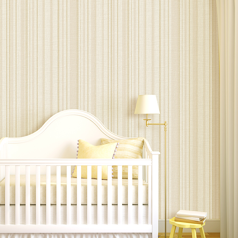 Simple Modern 3D Vertical Striped Non-woven Fabric Wallpaper For Walls Roll Living Room Bedroom Plain Pure Color Wall Paper Wall non woven bubble butterfly wallpaper design modern pastoral flock 3d circle wall paper for living room background walls 10m roll