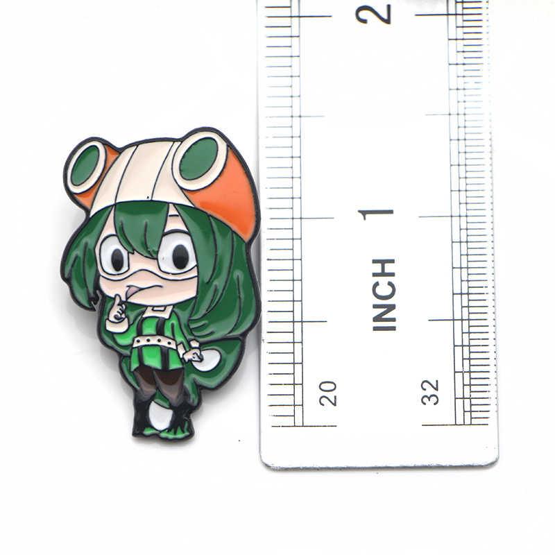 K41 Anime Boku Geen Hero Academia Mijn Hero Academia Metal Enamel Broches Pin Badge Fans Collection Sieraden Gift 1 stuks