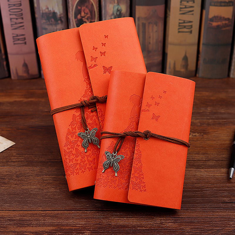 New Travelers Notebook Diary Notepad Vintage Literature PU A6 A5 Leather Note Book Stationery Gift Traveler