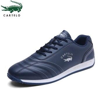 CARTELO chaussures pour hommes de sport et de loisirs mode pour hommes ceinture basse en cuir surface anti-dérapant vêtements zapatillas hombre
