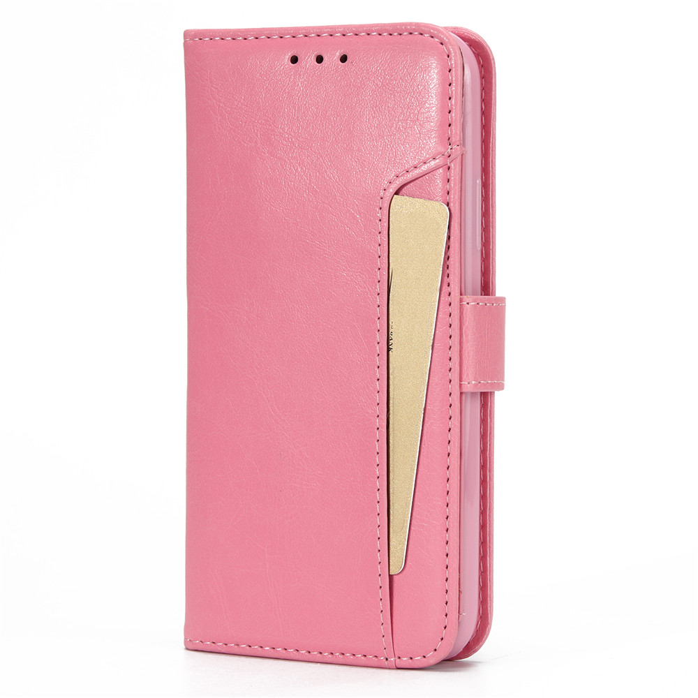 Flip Leather Case for iPhone 5 5S SE 6 6S 7 8 Plus X XR Xs Max Wallet Case For iPhone 11 11 Pro Max Card Slots Phone Cover Coque