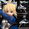 New 25cm Japanese Anime Fate Stay Night Saber Lily Doll The Sword Of Victory Action Figures