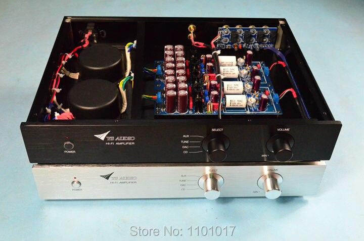 YS-Audio imitation JC-2 Hight niveau préamplificateur HIFI exquis classe Un JC2 pré-amp double transformateurs meilleur électronique composants