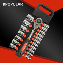 18 pcs. 1/2 «8-32 mm hexagons Socket wrench set Torque wrench with wrench, tools for automobile Hex wrench kit