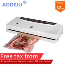 AODEJU AJ-320 Automatic Food Vacuum Sealer Packing Machine Vacuum packer with 32CM Sealing Length
