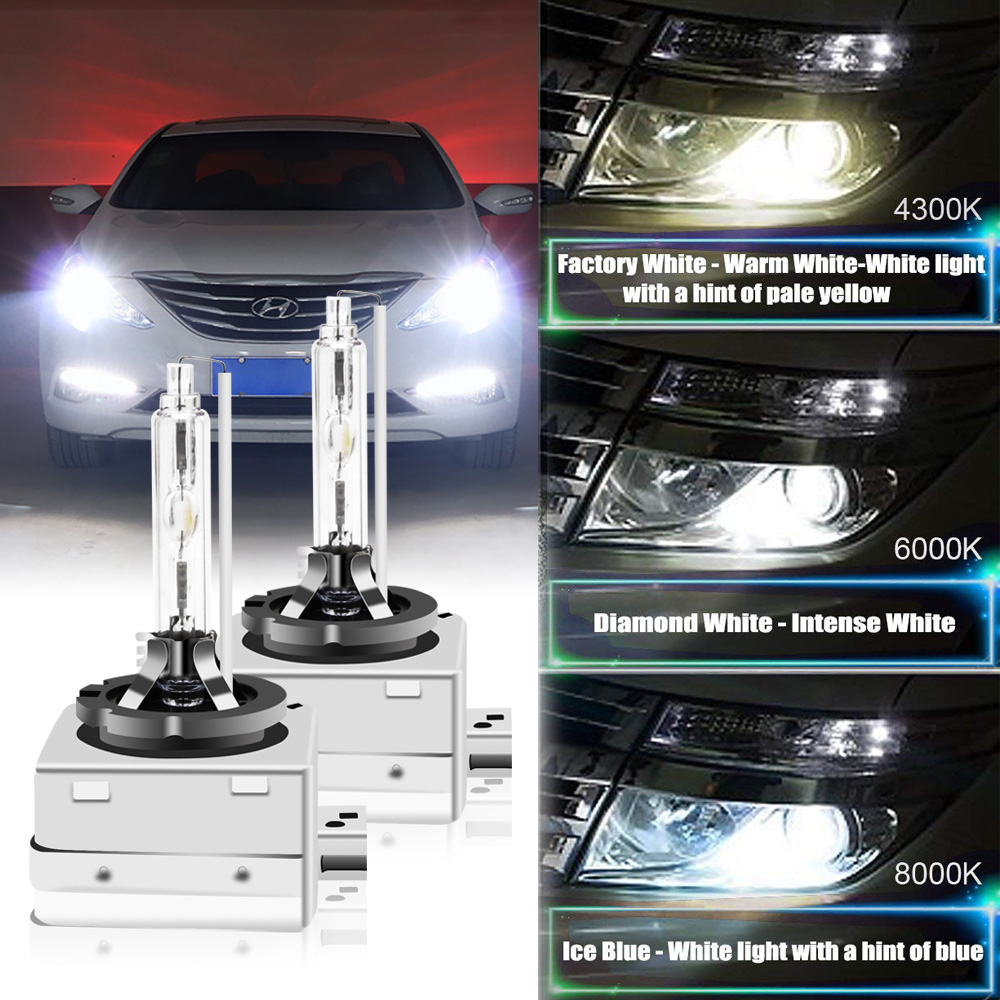 2X Ampoules Xénon D2S 5000K 35W BMW E46 E60 LAMPE HID