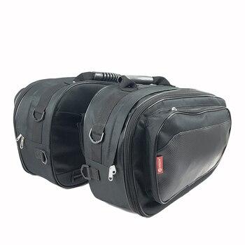 Conjunto de bolsa para SILLÍN de moto, alforjas para moto, resistente al...