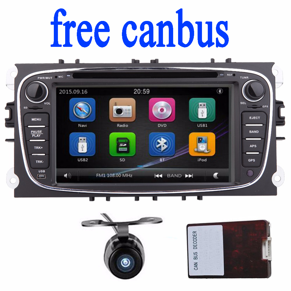 2 din car dvd radio gps navigation for ford mondeo and focus autoradio 2 din radio stereo. Black Bedroom Furniture Sets. Home Design Ideas