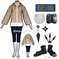 Caliente! envío gratis Naruto Hinata Hyuga Cosplay Costume Set completo