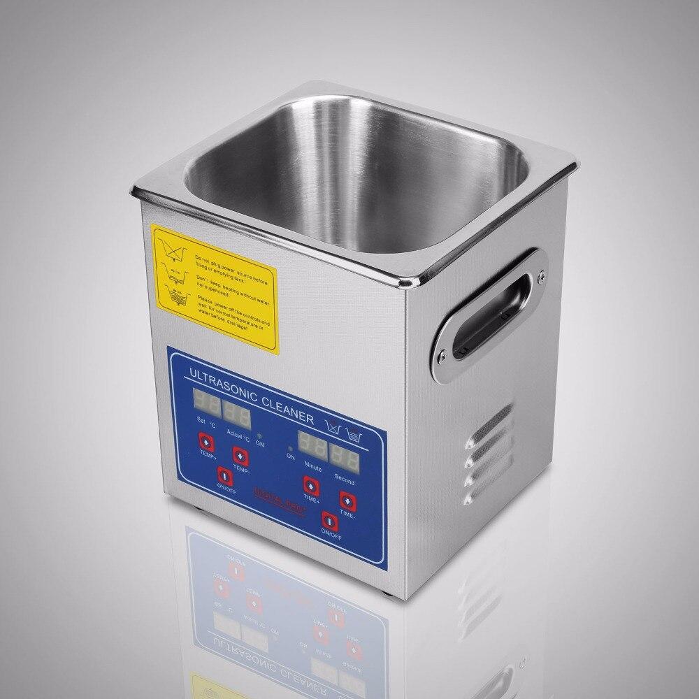 VEVOR JPS-10A Professional Digital 2L Ultrasonic Jewelry Cleaner with CE ce 5200a professional digital ultrasonic jewelry