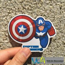 [Captain America] Film Auto Styling Wasserdicht Graffiti Doodle Pvc-aufkleber Hellaflush Fahrrad Laptop Skatboard Gepäck Aufkleber