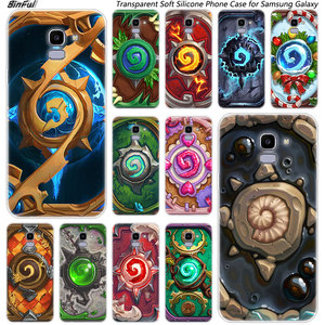 Hot Hearthstone Heroes of Warcraft Silicone Case For Samsung Galaxy J8 J6 J4 2018 J2 Core J5 J6 J7 Prime J3 2016 2017 EU J4 Plus(China)
