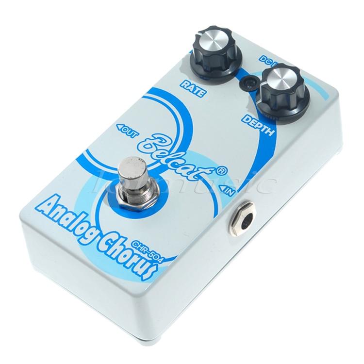 Effect Pedal Chorus Belcat CHR-504 Guitar Basss Chorus Side Tone Single Effect Analog ROHS japan one control bjf little copper chorus guitar effect pedal