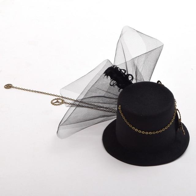 Стимпанк шляпка модель 12 3