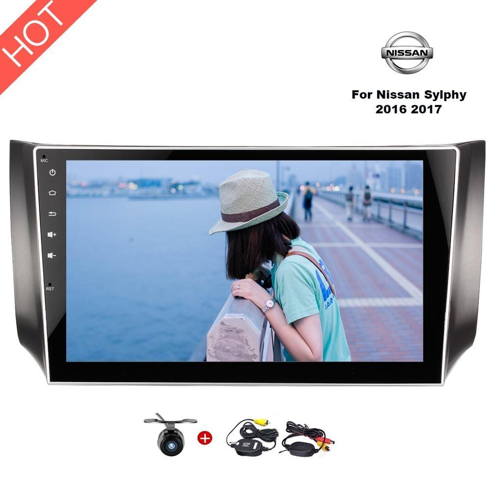 2Din Android 7 1 Car Stereo 10 1 Inch HD 1024600 Auto Radio GPS Navigation Head