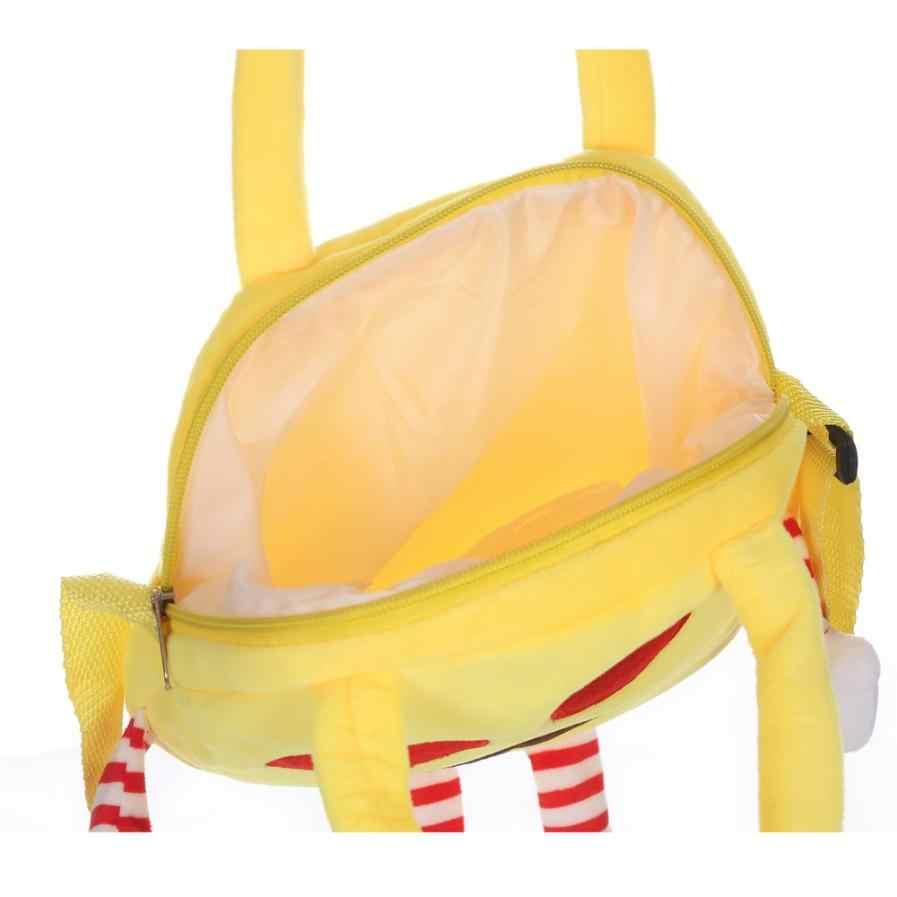 ... Xiniu Cute Kids Emoticon Shoulder School Villus Bag Shoulder Bag for  teenage girls school bags emoji ...