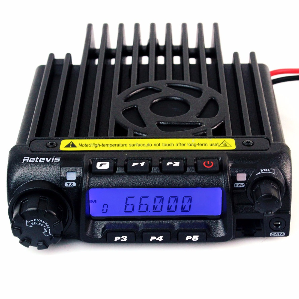 Retevis RT9000D Mobile Car Radio Station 60W 50CTCSS/1024DCS VOX Scan With Programming Cable Ham Radio Receiver A9100