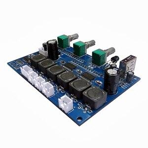 Image 4 - TPA3118 płyta wzmacniacza audio subwoofera 2X30W + 60W HIFI 2.1 kanałowy wzmacniacz cyfrowy Bluetooth 4.2 z U Disk Remote B6 001