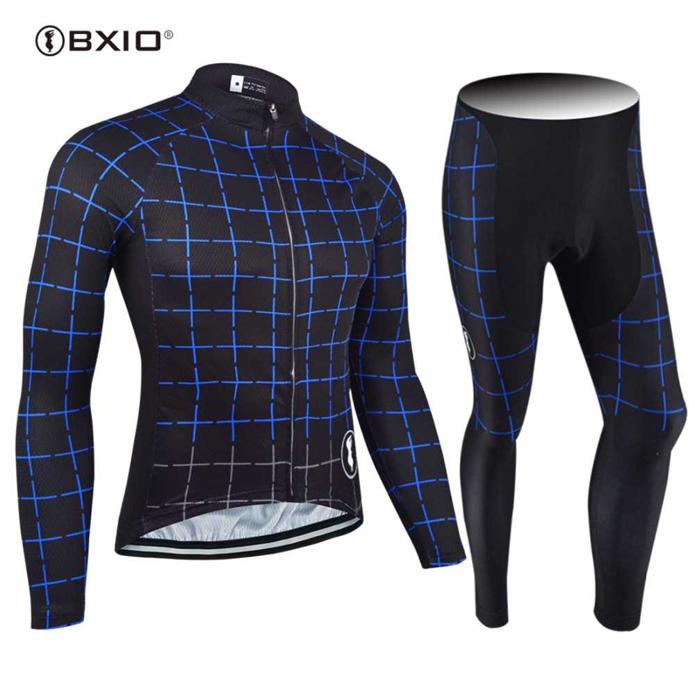 2017 New Arrival BXIO Maillot Ciclismo Cycling Jerseys Autumn Bicycle Clothes Quality Long Sleeve Bike Jersey