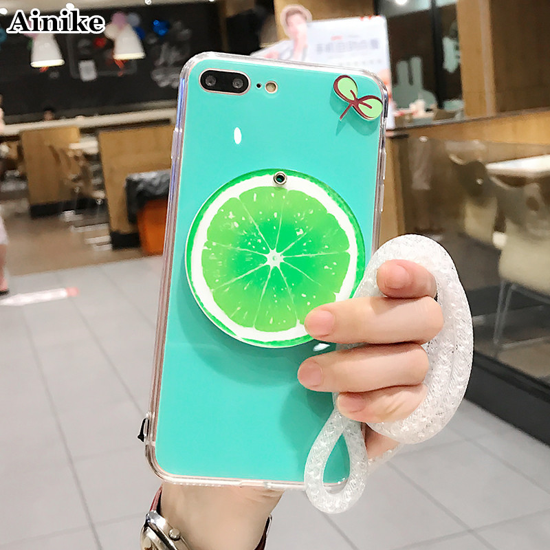 Detail Feedback Questions about Ainike Cute Fruit Mirror Hard Cover For BBK  Vivo X7 X9 X20 Plus Y66 Y67 V3 Summer Watermelon Colorful Phone Back Hand  Case ... 0c6ad5c3b92f
