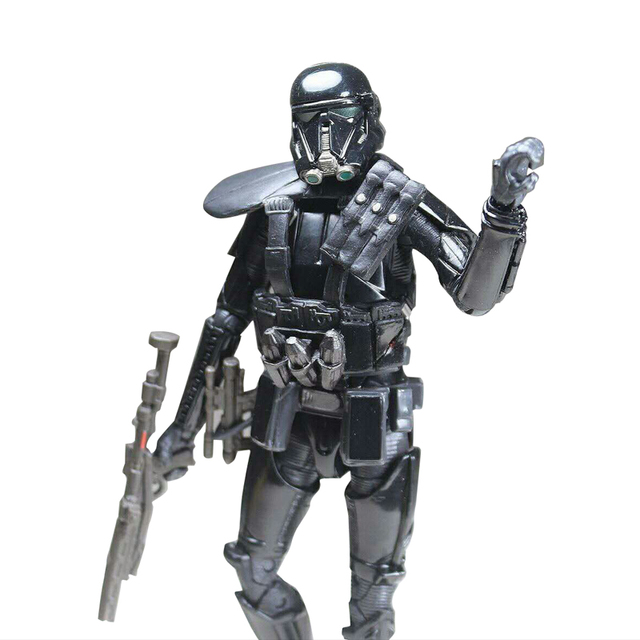 Star Wars Rogue One Black Series Figure Imperial Death Trooper Action Figure Model Stormtrooper Toys for Children Gift 6""