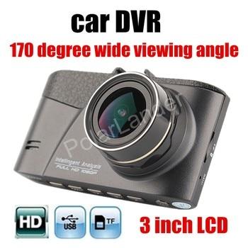 Горячая Распродажа Автомобильный видеорегистратор HD G сенсор 170 градусов широкий угол обзора видеорегистратор Автомобильная камера видеор