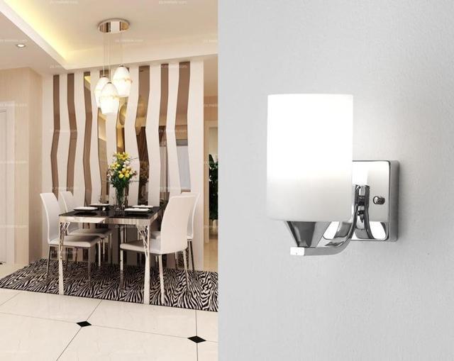 Singola testa lampada da parete a led/luce per locanda, ristorante ...