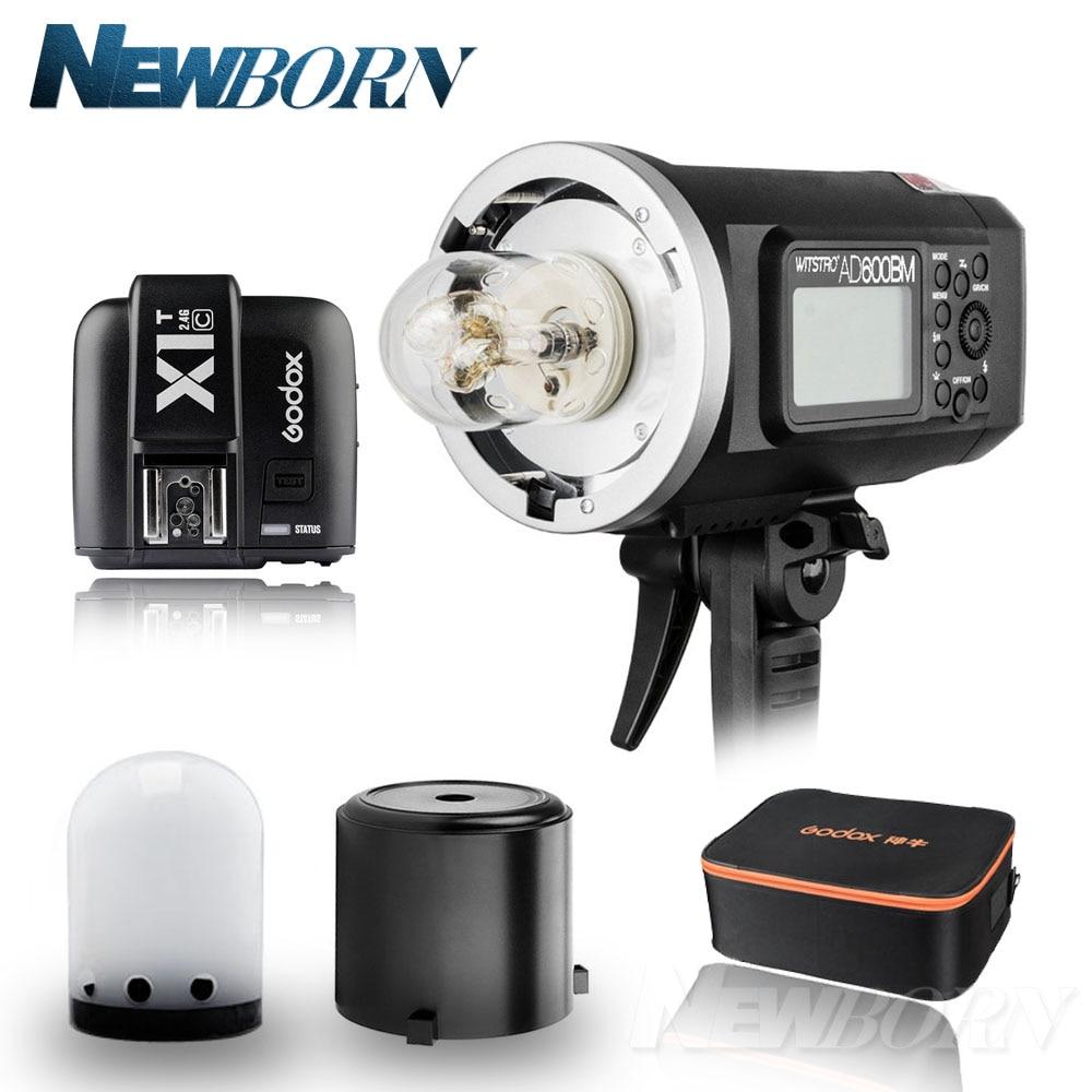 Godox AD600BM 600W HSS GN87 Bowens Mount Flash Outside Lights X System+ X1T-C Flash Trigger For Canon 5D3 5D4 7D 6D 1DX 80D