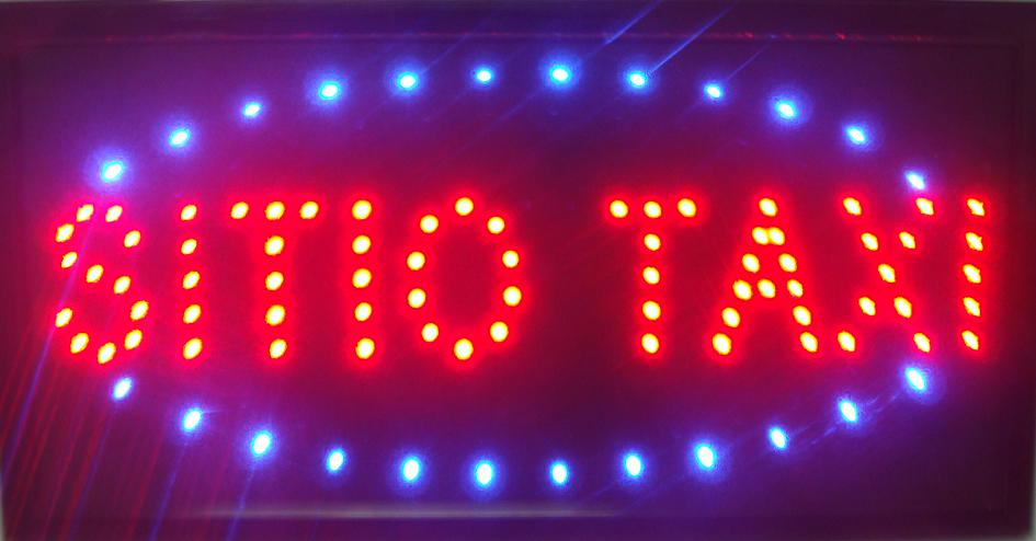2017 direct selling customed low power 10X19 inch semi-outdoor Ultra Bright running sitio taxi led Neon open lighted Sign