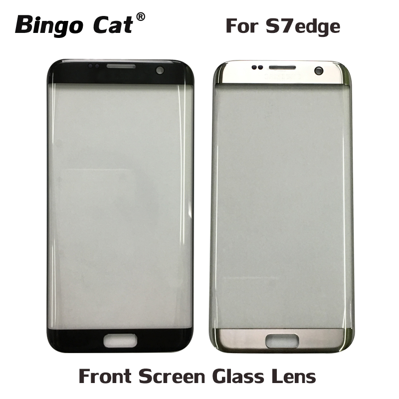 AAA+ New Replacement External Glass For Samsung Galaxy S7 Edge S7edge G935F LCD Display Touch Screen Front Outer Glass Lens