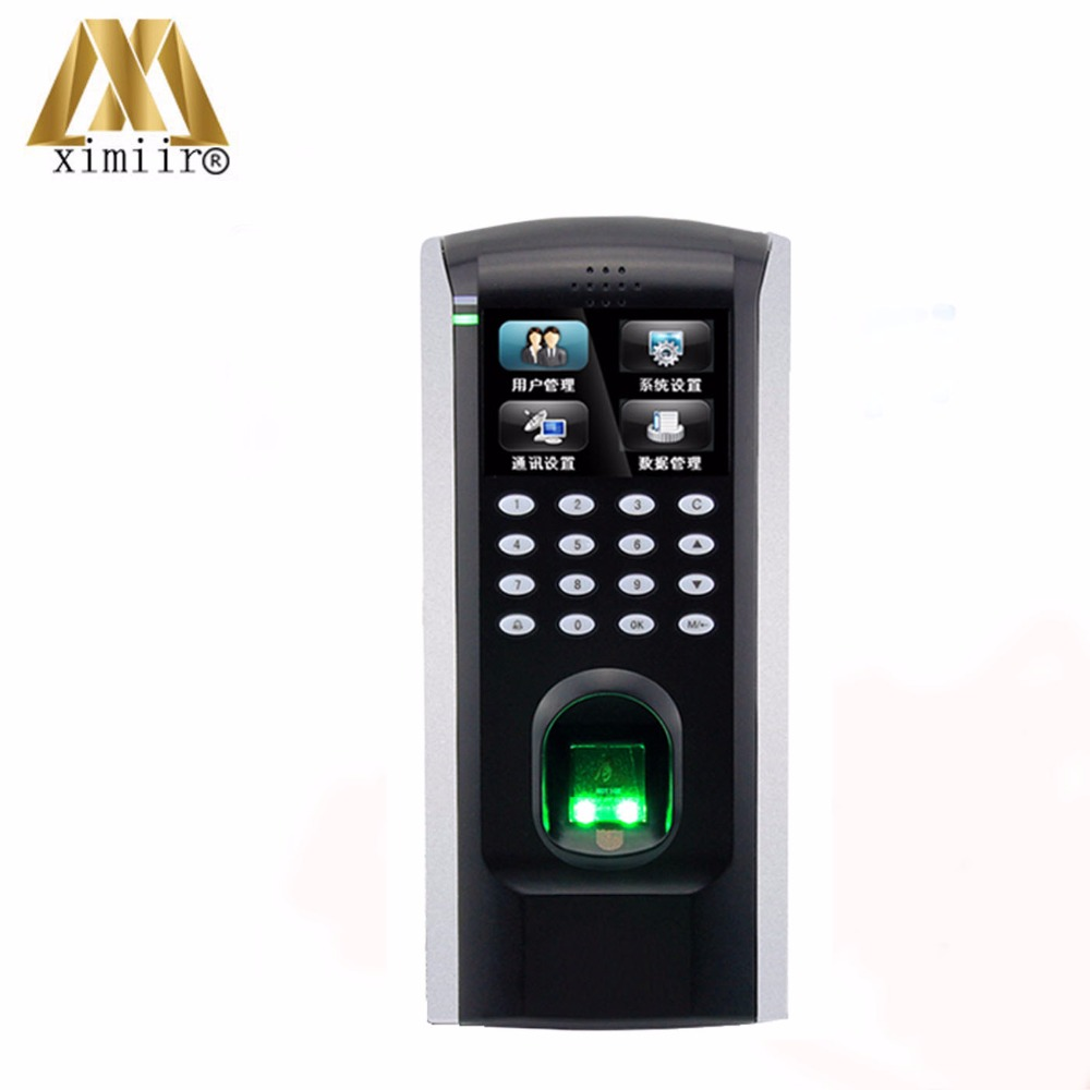 New Arrived ZK Biometric Fingerprint Time Attendance And Access Control With Keypad SF200 Door Access Control System цена