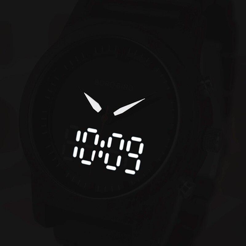 Bobo pássaro relógios masculinos novo design de