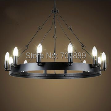 Aliexpress.com : Buy Vintage style Candle Chandelier American ...