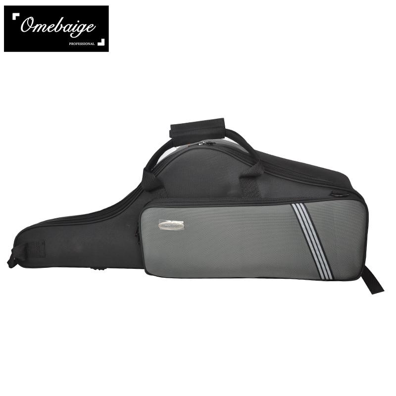 Lightweight Black Sponge Shoulder Bags for Tenor Saxophone Case Soft Oxford Cloth Backpack Luggage Portable lightweight black sponge shoulder bags for tenor saxophone case soft oxford cloth backpack luggage portable