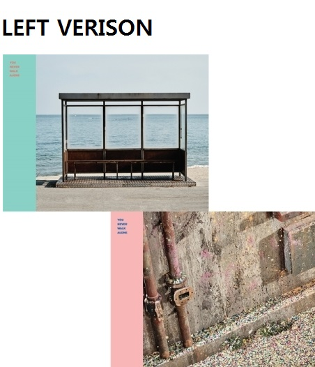 BTS - YOU NEVER WALK ALONE - ( LEFT VERSION) Release Date 2017.02.14