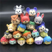 Anime Toys Lot random Cute Mini Minnie Mickey Mouse Winnie Dumbo Figures PVC Dolls For Chirldren Gifts toy
