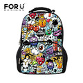 2016 Back to School Backpack Women Cute Cartoon Backpacks School Bags for Teenagers Girls Bagpack Mochila Bags Laptop Daypack