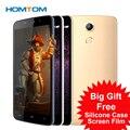 5.5 Дюймов Оригинальный Homtom HT17 MTK6737 Мобильного Телефона Android 6.0 HD 1280*720 4 Г Смарт Сотовый Телефон