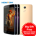 5.5 Inch Original Homtom HT17 MTK6737 Mobile Phone Android 6.0 HD 1280*720 4G Smart  Cell Phone