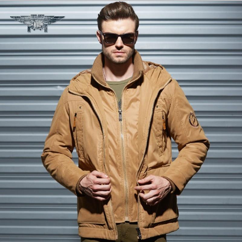 2016 New Autumn&Winter Mens Warm Jacket Man's Coat  Parka Casual Coat Free Shipping Elastic Cuffs Jacket Parkas Men #jpzc668