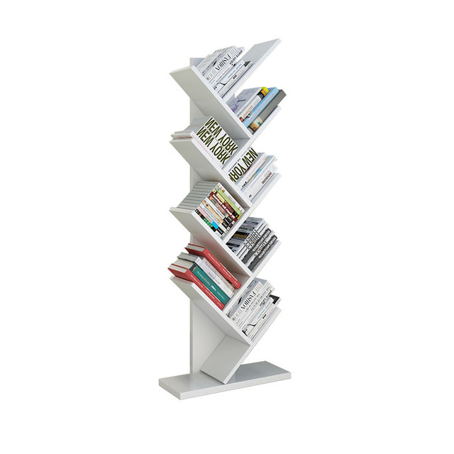 Modern Creative Bookshelf Office Floor Bookshelf