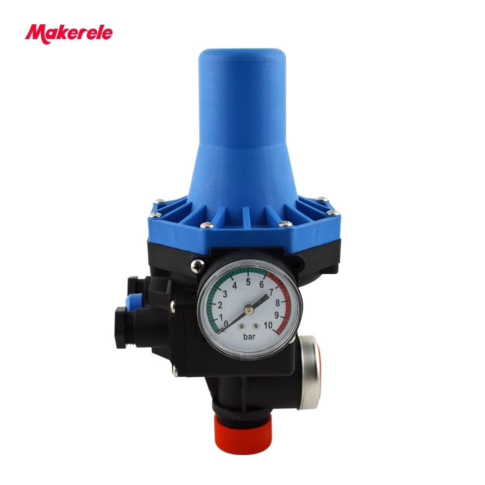 Adjusting Pressure Switch Automatic Electric Electronic Control  for Water Pump 220v MK-WPPS08 G1 Connection thread for blue water pump automatic perssure control electronic switch circuit board 10a hot sale