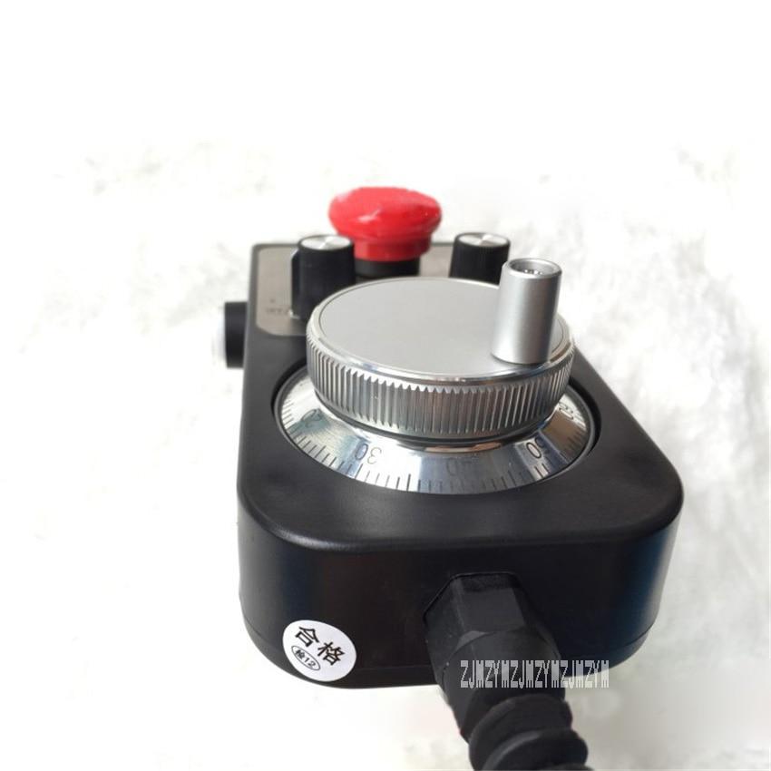 Новая Горячая ручка коробка MPG CNC токарный станок и фрезерный контроллер с аварийной остановкой самосброса контроллер гравировальной машины 5 в 6 осей - 4