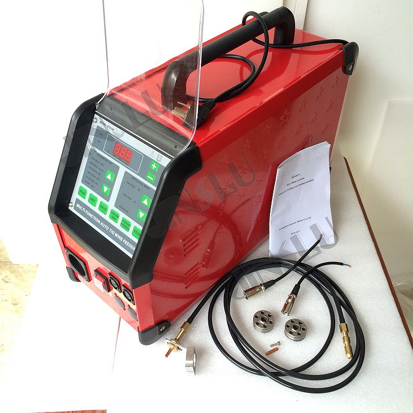 220V Digital Pulse Argon Arc Welding TIG Welding Machine Accessory WF-007 TIG Welding wire feeder thermocouple spot welding machine tl weld metal ball lotus wire feeder thermocouple welding