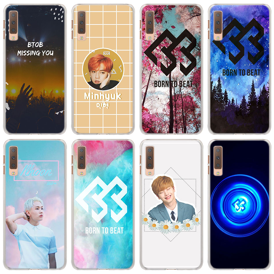 Btob Born To Beat Kpop Hard Back Case Cover For Samsung Galaxy A6 A6 Plus A7 A8 A8 Plus 2018 A6s A8s Pc Phone Cases Cover More Discounts Surprises Phone Bags & Cases
