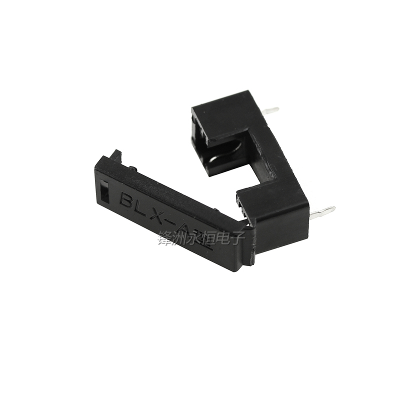 10PCS/LOT Fuse Block BLX-A Fuse Holder 5*20 black insurance clip foot about 23MM 5X20