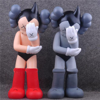 1pc Lot Anime 2 Colors Original Fake KAWS Astro Boy Plastic Action Figures Dolls Models CollectionToys