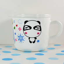 150ML New Fashion Design Cartoon Animals Safety Baby Cups Kids Water Drink Cup Kids Gift Random Color